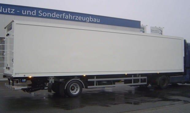 Kükentransportaufbau mit Heizung